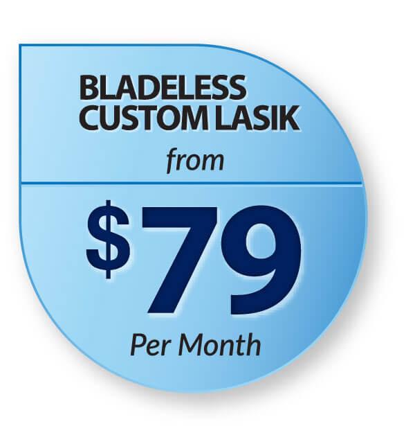 Bladeless Custom Lasik $79